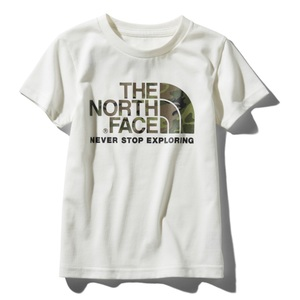 THE NORTH FACE(ザ・ノースフェイス) S/S CAMO LOGO TEE(ショートスリーブ カモ ロゴ ティー) Kid's NTJ31992