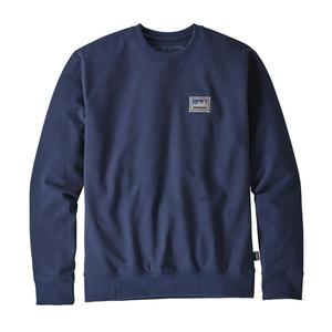パタゴニア(patagonia) メンズ ショップ ステッカー パッチ アップライザル クルー スウェットシャツ 39541 メンズセーター&トレーナー