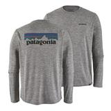 パタゴニア(patagonia) メンズ ロングスリーブ キャプリーン クール デイリー グラフィック シャツ 45190 メンズ速乾性長袖Tシャツ