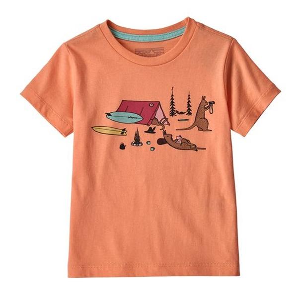 パタゴニア(patagonia) Graphic Organic T-Shirt(グラフィック オーガニック Tシャツ) Baby's 60386 半袖(ジュニア・キッズ・ベビー)