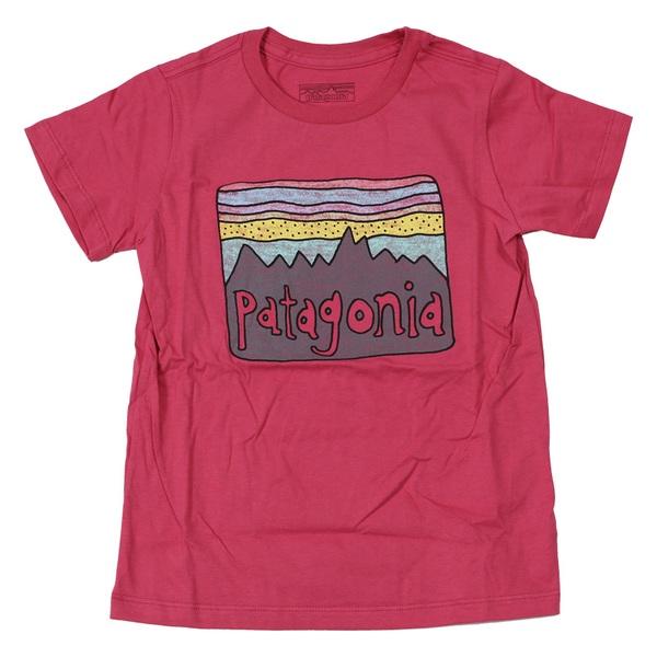 パタゴニア(patagonia) ベビー フィッツ ロイ スカイズ オーガニック Tシャツ 60419 半袖(ジュニア・キッズ・ベビー)
