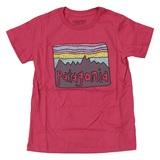 パタゴニア(patagonia) ベビー フィッツ ロイ スカイズ オーガニック Tシャツ キッズ 60419 半袖(ジュニア・キッズ・ベビー)