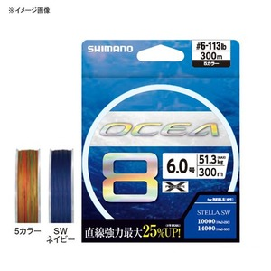 シマノ(SHIMANO) LD-A71S オシア8 300m 64760 オールラウンドPEライン
