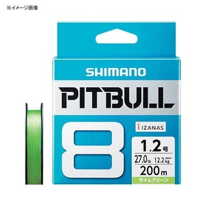 シマノ(SHIMANO) PL-M78S PITBULL(ピットブル) 8 300m 2.0号 ライムグリーン 64792