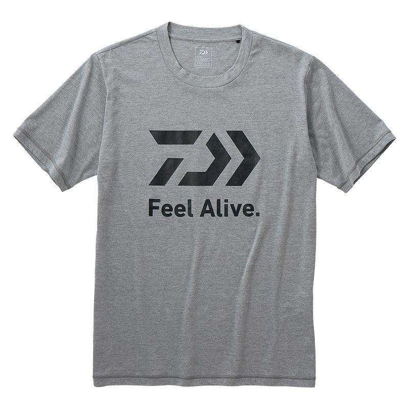 ダイワ(Daiwa) DE-83009 ショートスリーブ FEEL Alive Tシャツ XL フェザーグレー 08331180