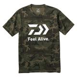 ダイワ(Daiwa) DE-83009 ショートスリーブ FEEL Alive Tシャツ 08331186 フィッシングシャツ
