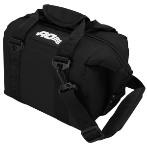 AO Coolers(エーオー クーラーズ) 6パック キャンバス ソフトクーラー AO6BK ソフトクーラー0?9リットル