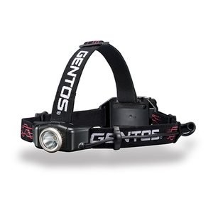GENTOS(ジェントス) Gシリーズ リフレクターヘッドライト 最大250ルーメン 単四電池式 GH-002DG