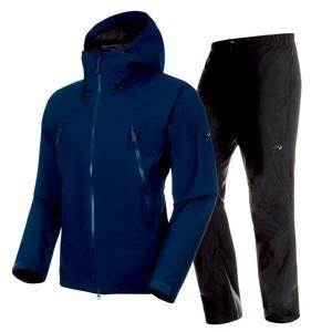 CLIMATE Rain Suit AF Men's S 50231(poseidon×black)