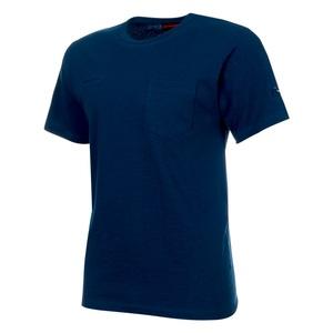 MAMMUT(マムート) Cotton Pocket T Shirt Men's L 50134(poseidon) 1017-10001