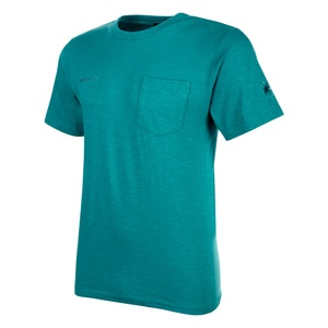 MAMMUT(マムート) Cotton Pocket T Shirt Men's L 50233(dark waters) 1017-10001