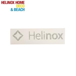 Helinox(ヘリノックス) Helinox ロゴステッカー L ブラック 19759015001007