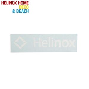 Helinox(ヘリノックス) Helinox ロゴステッカー L ホワイト 19759015010007