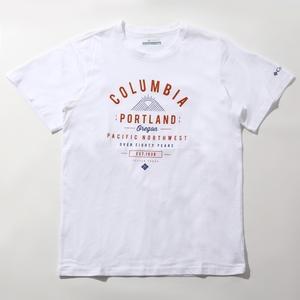 Columbia(コロンビア) LEATHAN TRAIL TEE(リーザント レイル Tシャツ) AE0729 メンズ半袖Tシャツ