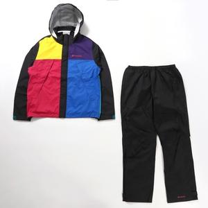 Simpson Sanctuary Rainsuit(シンプソン サンクチュアリ レインスーツ) S 013(BLACK MULT)