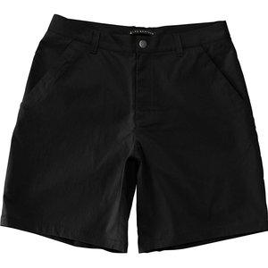 LAD WEATHER(ラドウェザー) ライトトレッキングパンツ ショート Men's ladpants008bk-l