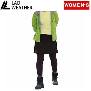 LAD WEATHER(ラドウェザー) ライトトレッキングスカート Women's ladpants010bk-l