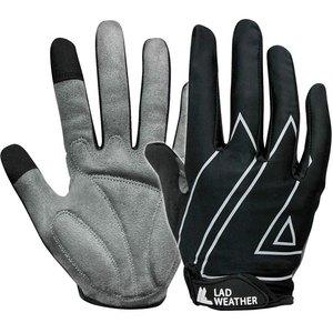 LAD WEATHER(ラドウェザー) サイクルグローブ フルフィンガー 手袋 ladgloves002bk-l