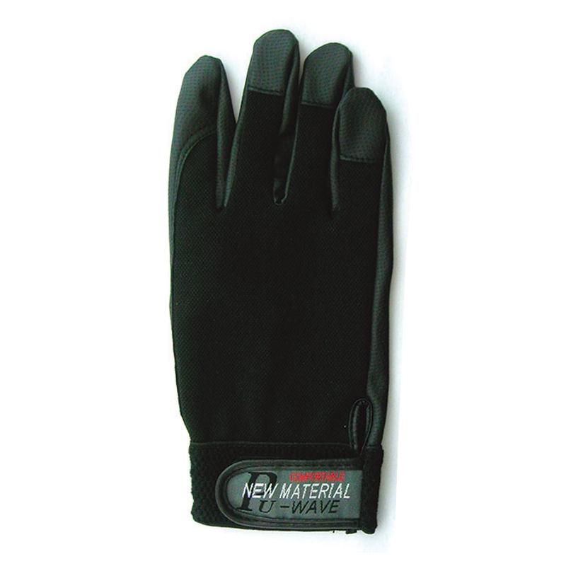おたふく手袋(OTAFUKU) PU-WAVE M ブラック K-18