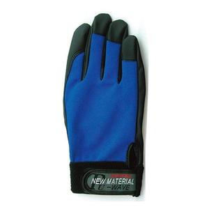おたふく手袋(OTAFUKU) PU-WAVE M ブルー K-18