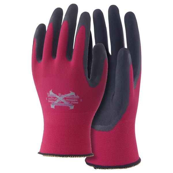 おたふく手袋(OTAFUKU) ソフキャッチEXフィット 天然ゴムクレーターパーム A-397 インナー・フリースグローブ(アウトドア)