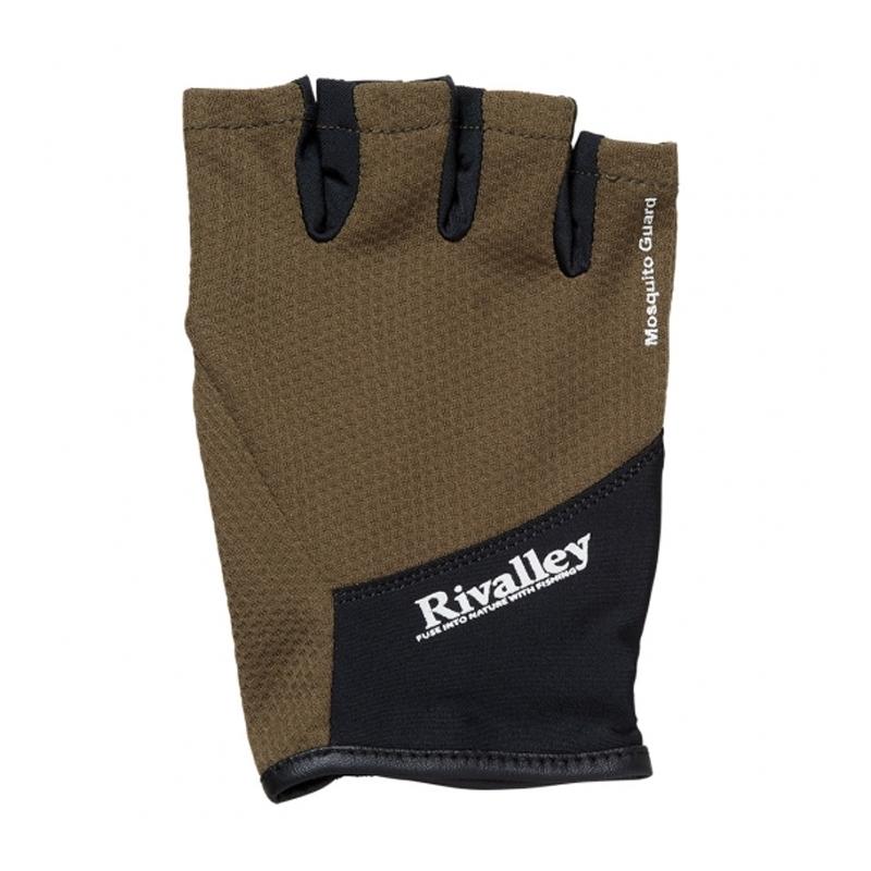 リバレイ(Rivalley) RV トラウトグローブ5C M カーキ 5348