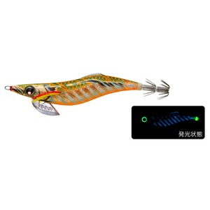 ヨーヅリ(YO-ZURI) アオリーQ フィンエース 3.5号 ブルー夜光ゴールドグリーン A1748-BLGM