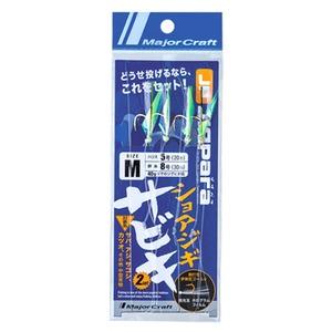 メジャークラフト ジグパラ ショアジギサビキ JP-SABIKI S