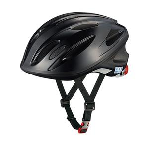 オージーケー カブト(OGK KABUTO) ヘルメット SN-10 通学用 56-58cm ブラック 無地 20632220