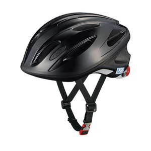 OGK(オージーケー) ヘルメット SN-10 通学用 56-58cm ブラック 無地 20632220