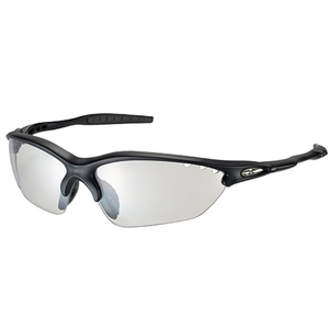 OGK(オージーケー) サングラス BINATO-X photochromic マットブラック/クリア調光 20660862 ウェアアクセサリー