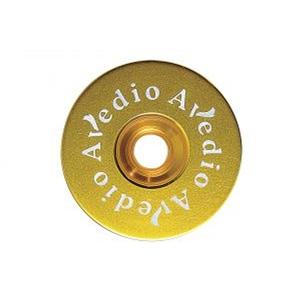AVEDIO(エヴァディオ) 軽量アルミトップキャップ セパレート ゴールド 30470645