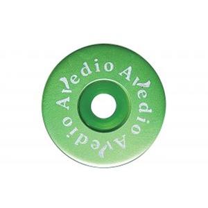 AVEDIO(エヴァディオ) 軽量アルミトップキャップ セパレート グリーン 30470649