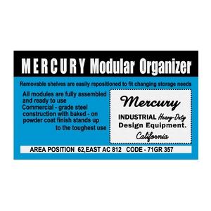 MERCURY(マーキュリー) ステッカー 11×6.5 ORGANIZER ME044747