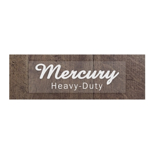 MERCURY(マーキュリー) ステッカー 13.8×4.5 WHITE ME044761