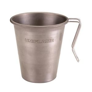 ユニフレーム(UNIFLAME) スタッキングマグ500 チタン 666111 チタン製マグカップ