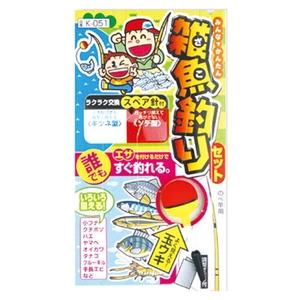 マルフジ 仕掛け 雑魚釣りセット 2.1用 K051-21