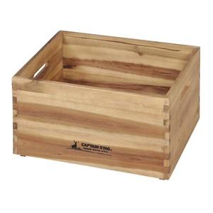 キャプテンスタッグ(CAPTAIN STAG) CSクラシックス 木製BOX(400) UP-2002