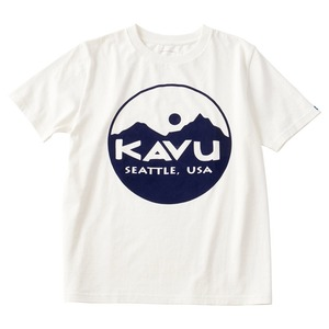 KAVU(カブー) サークルロゴT 19821020010005 メンズ半袖Tシャツ