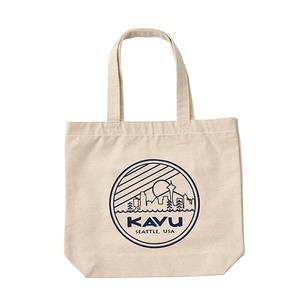KAVU(カブー) シアトルロゴ トートバッグ 19821030052000