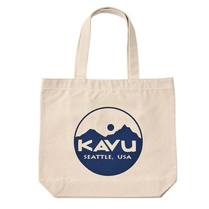 KAVU(カブー) サークルロゴ トートバッグ 19821031052000 トートバッグ