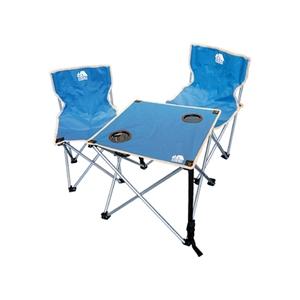 ハック(HAC) 折りたたみチェア&テーブルセット HAC2-0260-blue
