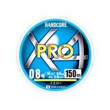 デュエル(DUEL) HARDCORE X4 PRO(ハードコア X4プロ) 150m H3861-Y シーバス用PEライン