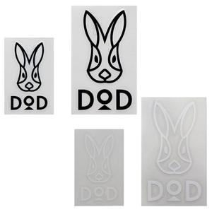 DOD(ディーオーディー) DODカッティングステッカーセット ST1-658-BW