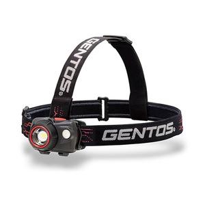 GENTOS(ジェントス) W STAR ダブルスターシリーズ ヘッドライト 最大320ルーメン 単四電池式 WS-343HD