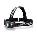 GENTOS(ジェントス) W STAR ダブルスターシリーズ ヘッドライト 最大580ルーメン 単四電池式 WS-243HD ヘッドランプ