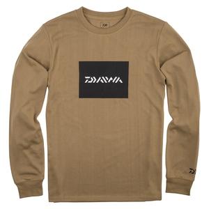 ダイワ(Daiwa) DE-80009 BOXロゴ ロングスリーブTシャツ 08331644