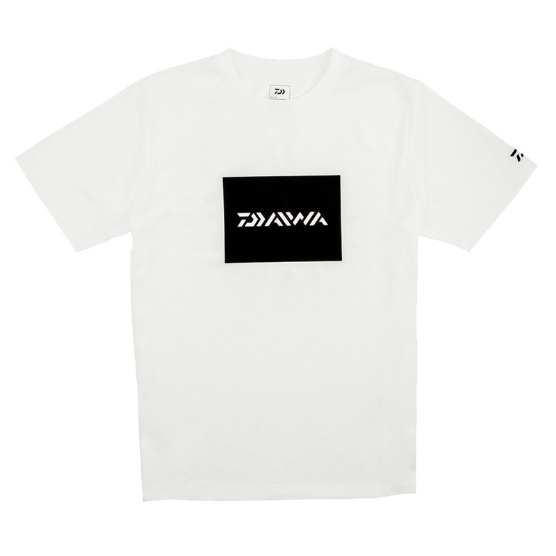ダイワ(Daiwa) DE-81009 BOXロゴ ショートススリーブTシャツ 120 ホワイト 08331656