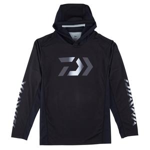 【送料無料】ダイワ(Daiwa) DE-37009 フーディーロングスリーブ ゲームシャツ XL ブラック 08331881