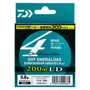 ダイワ(Daiwa) UVF エメラルダスDURA センサー×4 LD +Si2 200m 07303311